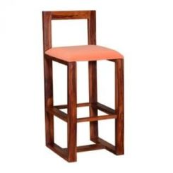 Vig Bar Chair (Teak Finish)