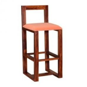Wooden Bar Stools With Cushion Online