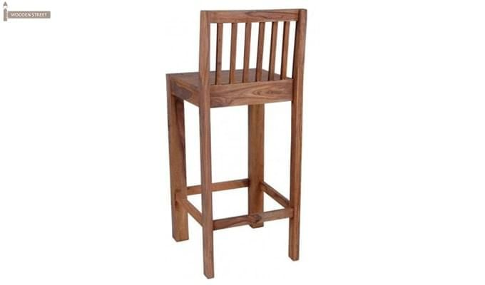 Walter Bar Chair (Teak Finish)-2