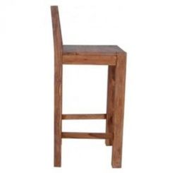 Walter Bar Chair (Teak Finish)