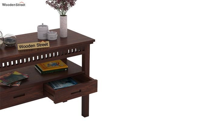 Adolph Console Table With Storage (Walnut Finish)-3