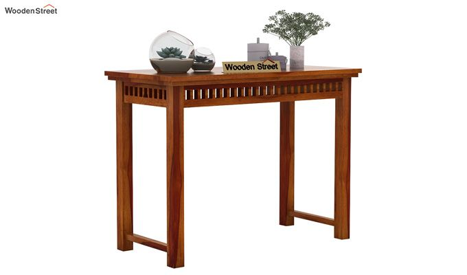 Adolph Console Table (Honey Finish)-2