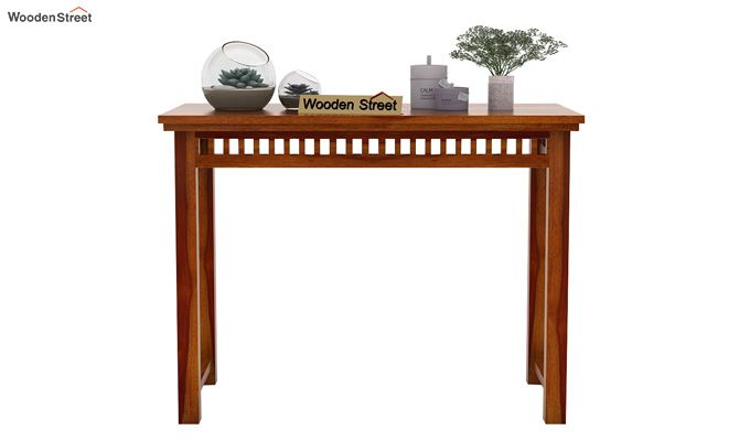 Adolph Console Table (Honey Finish)-3
