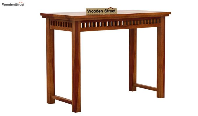 Adolph Console Table (Honey Finish)-4