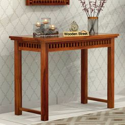 Adolph Console Table (Honey Finish)