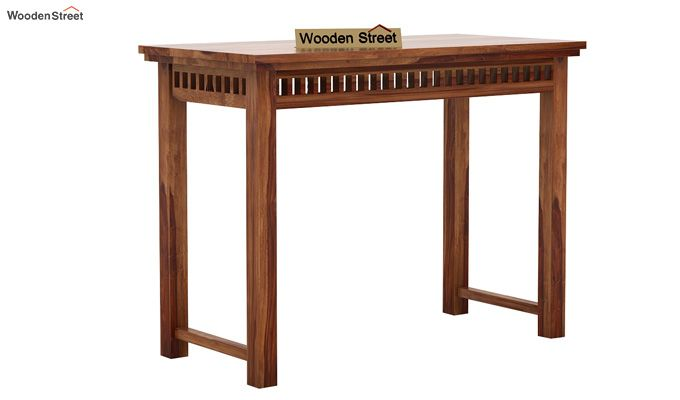 Adolph Console Table (Teak Finish)-3