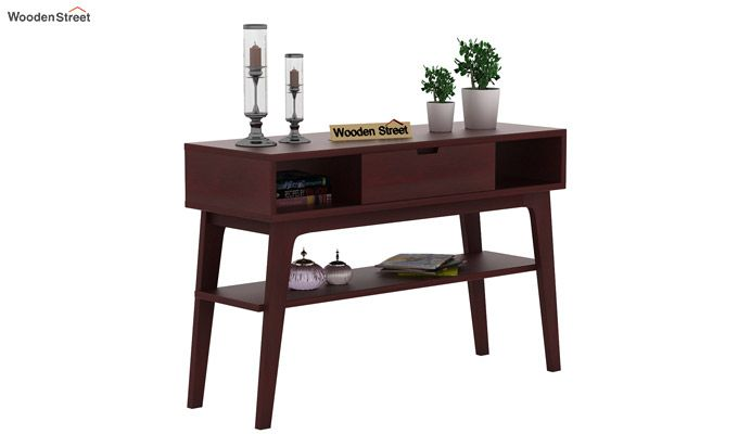 Arkon Console Table (Mahogany Finish)-1