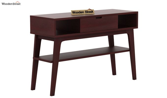 Arkon Console Table (Mahogany Finish)-4