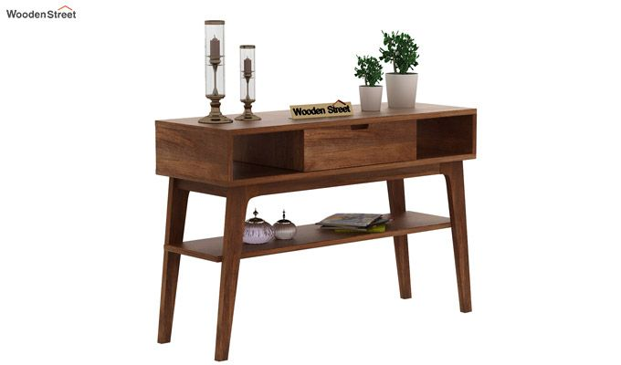 Arkon Console Table (Teak Finish)-1