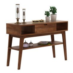 Arkon Console Table (Teak Finish)