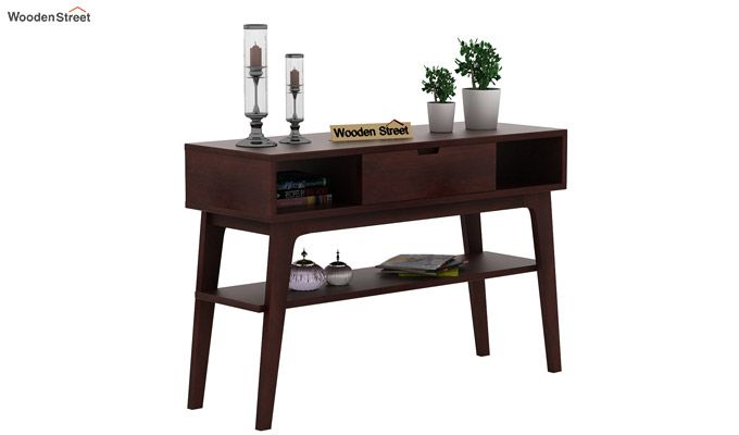 Arkon Console Table (Walnut Finish)-2