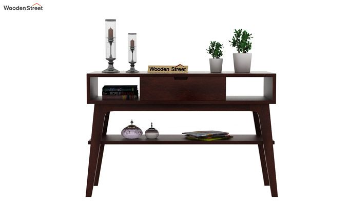 Arkon Console Table (Walnut Finish)-3