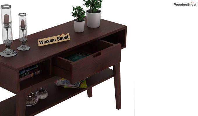 Arkon Console Table (Walnut Finish)-4