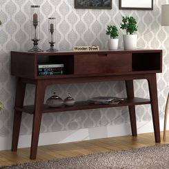 Arkon Console Table (Walnut Finish)