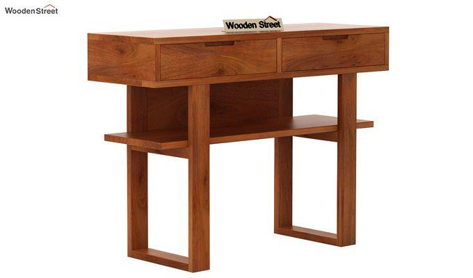 Boris Console Table (Honey Finish)-3