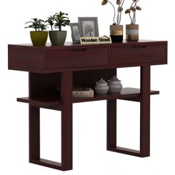 Boris Console Table (Mahogany Finish)