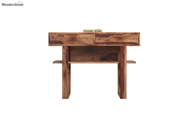Boris Console Table (Teak Finish)-3
