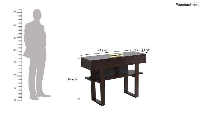 Boris Console Table (Walnut Finish)-5