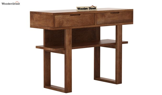 Boris Console Table (Teak Finish)-4