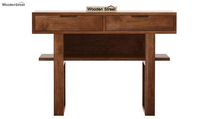 Boris Console Table (Teak Finish)-5