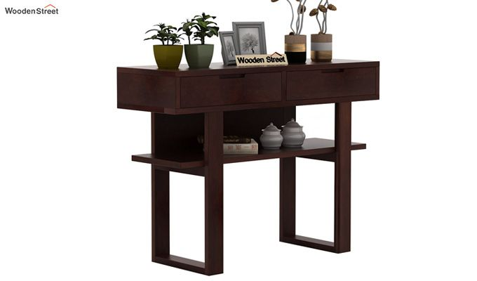 Boris Console Table (Walnut Finish)-1