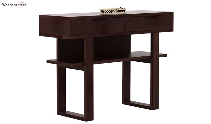 Boris Console Table (Walnut Finish)-3