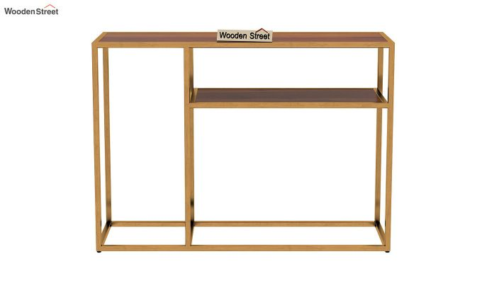 Carol Console Table (Honey Finish)-4