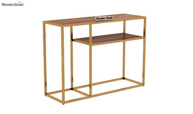 Carol Console Table (Teak Finish)-3