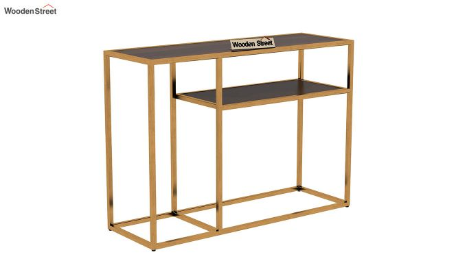 Carol Console Table (Walnut Finish)-3
