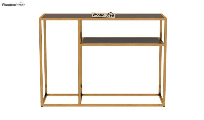 Carol Console Table (Walnut Finish)-4