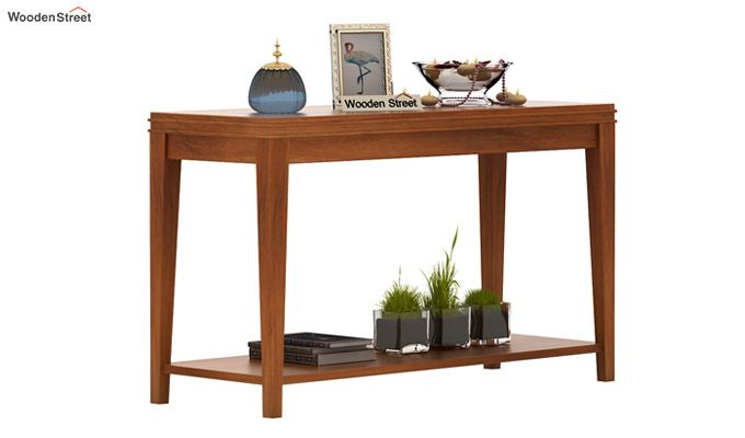 Cody Console Table (Honey Finish)-1
