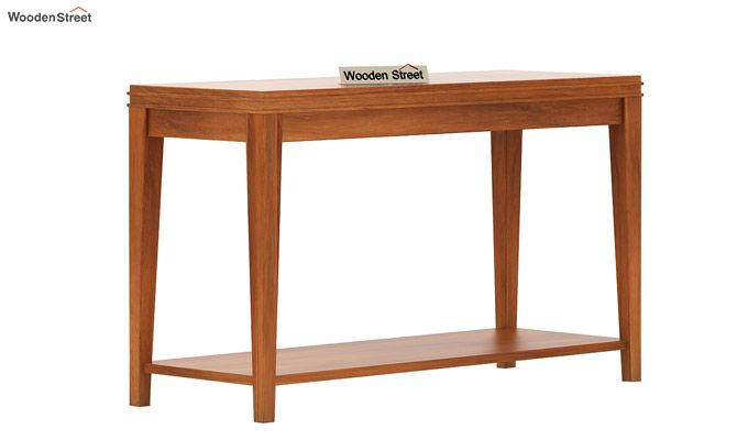 Cody Console Table (Honey Finish)-3