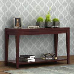 Cody Console Table (Mahogany Finish)