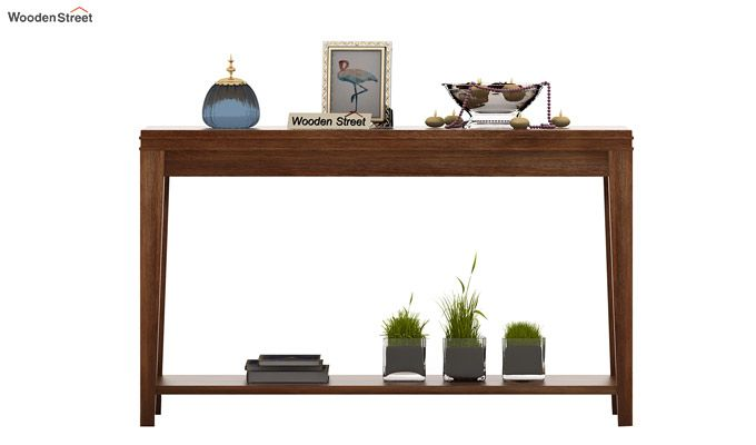Cody Console Table (Teak Finish)-2