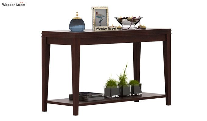 Cody Console Table (Walnut Finish)-1
