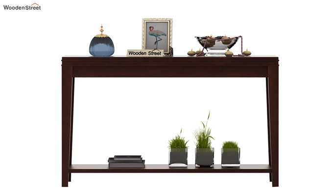 Cody Console Table (Walnut Finish)-2