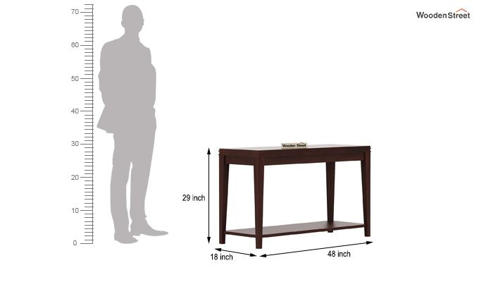 Cody Console Table (Walnut Finish)-4
