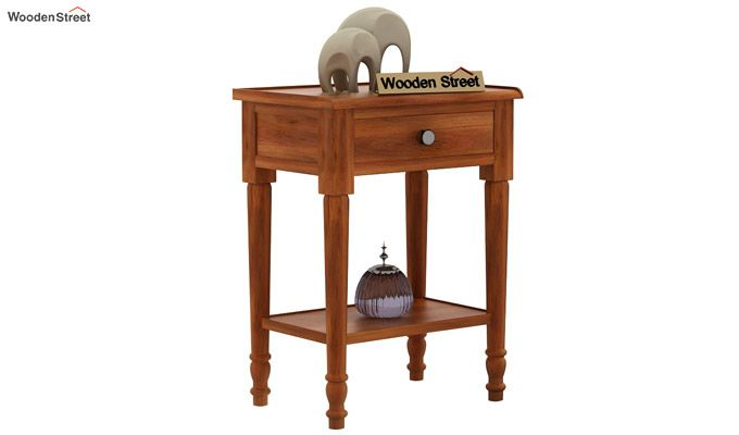 Danya Console Table (Honey Finish)-2