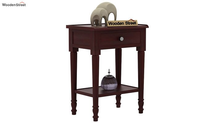 Danya Console Table (Mahogany Finish)-1
