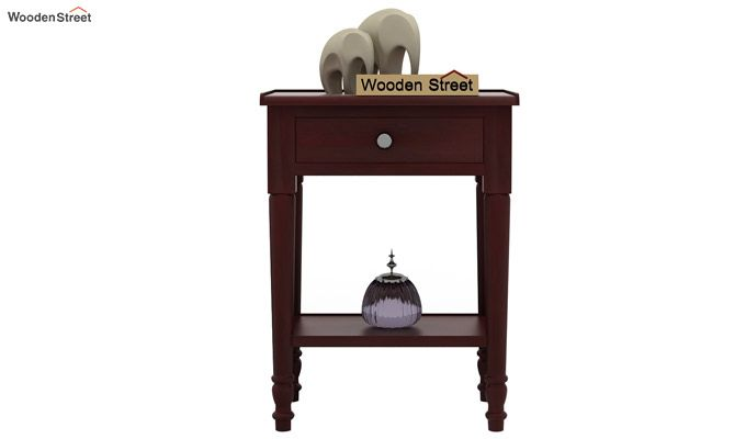 Danya Console Table (Mahogany Finish)-2