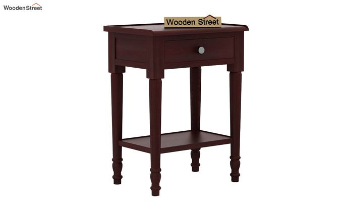 Danya Console Table (Mahogany Finish)-3