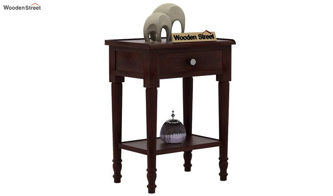 Danya Console Table (Walnut Finish)-1