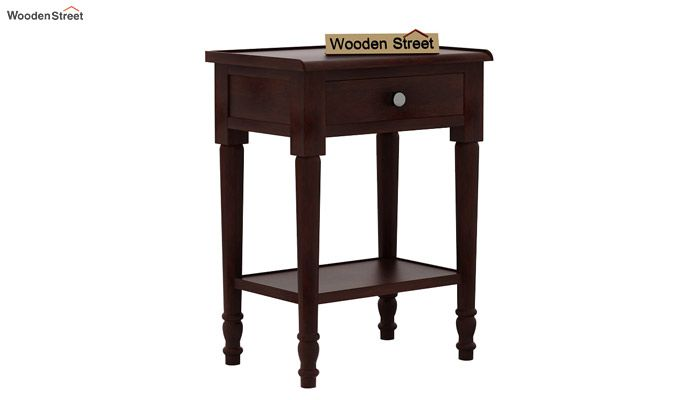 Danya Console Table (Walnut Finish)-3