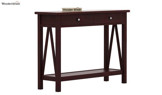Hilton Console Table (Mahogany Finish)-4