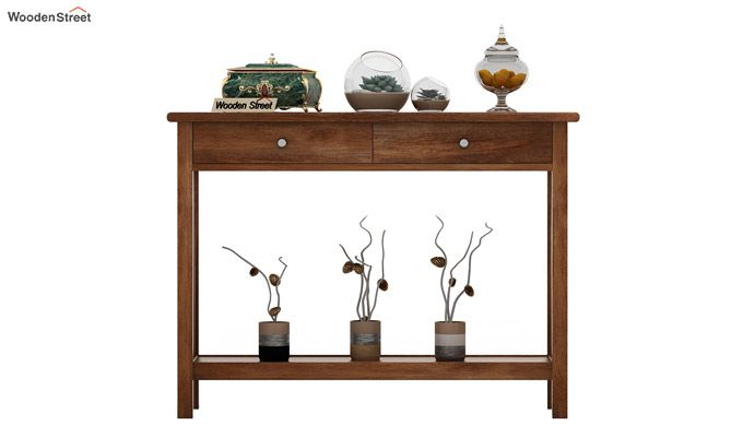 Hilton Console Table (Teak Finish)-2