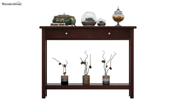 Hilton Console Table (Walnut Finish)-3