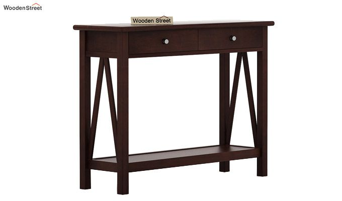 Hilton Console Table (Walnut Finish)-5