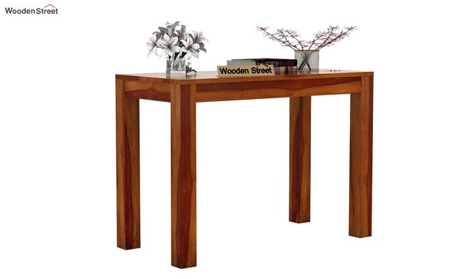 Hout Console Table (Honey Finish)-2