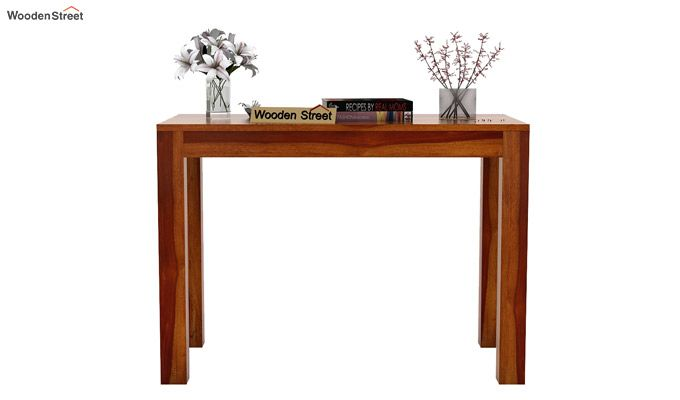 Hout Console Table (Honey Finish)-3