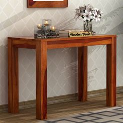 Hout Console Table (Honey Finish)